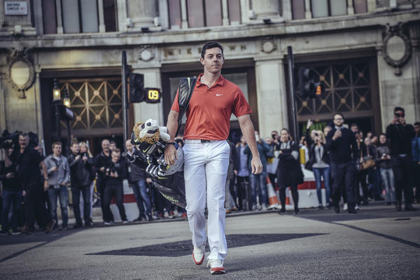 Rory McIlroy Puts Innovation and Inspiration on Display at Niketown London