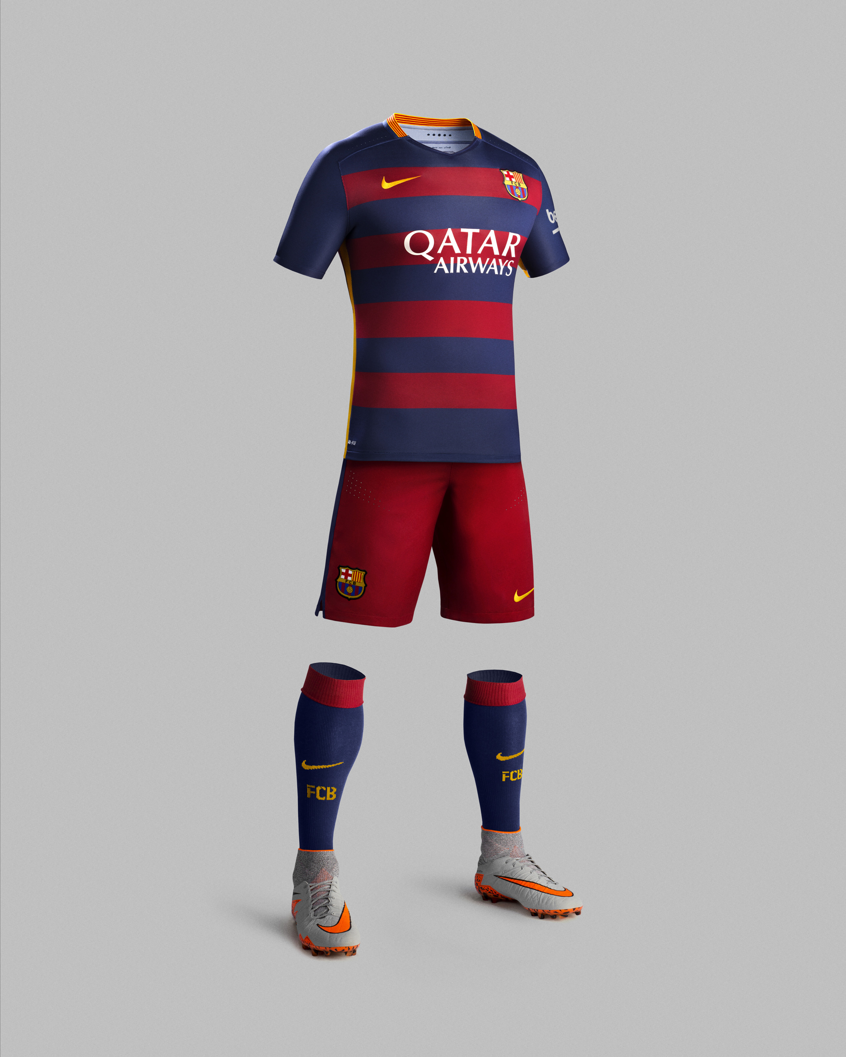 Nike and fc barcelona unveil bold new home and away kits for 2015 16 nike news - The body shop barcelona ...
