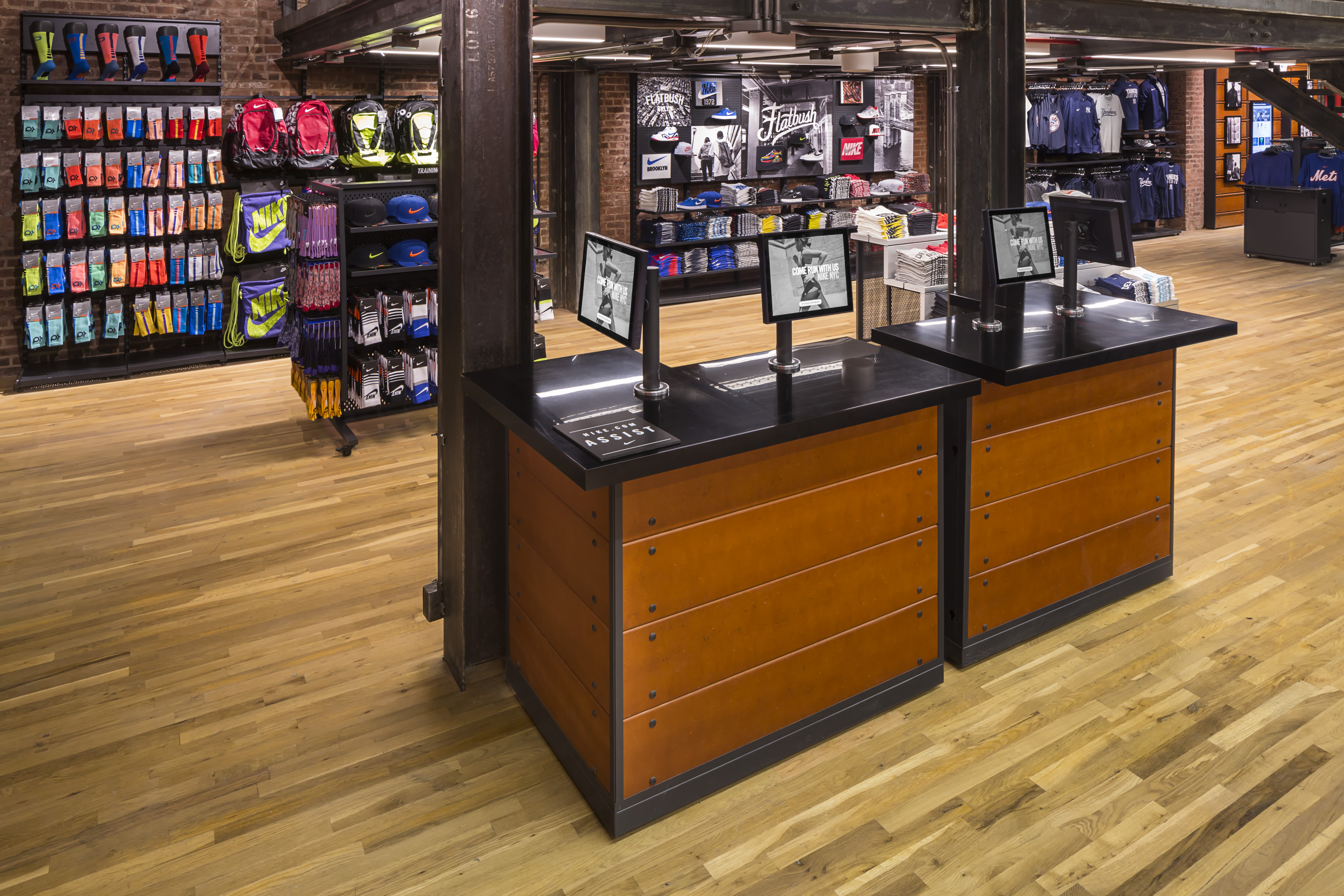 Nike News Nostrand and Flatbush Nike Opens First NYC Community