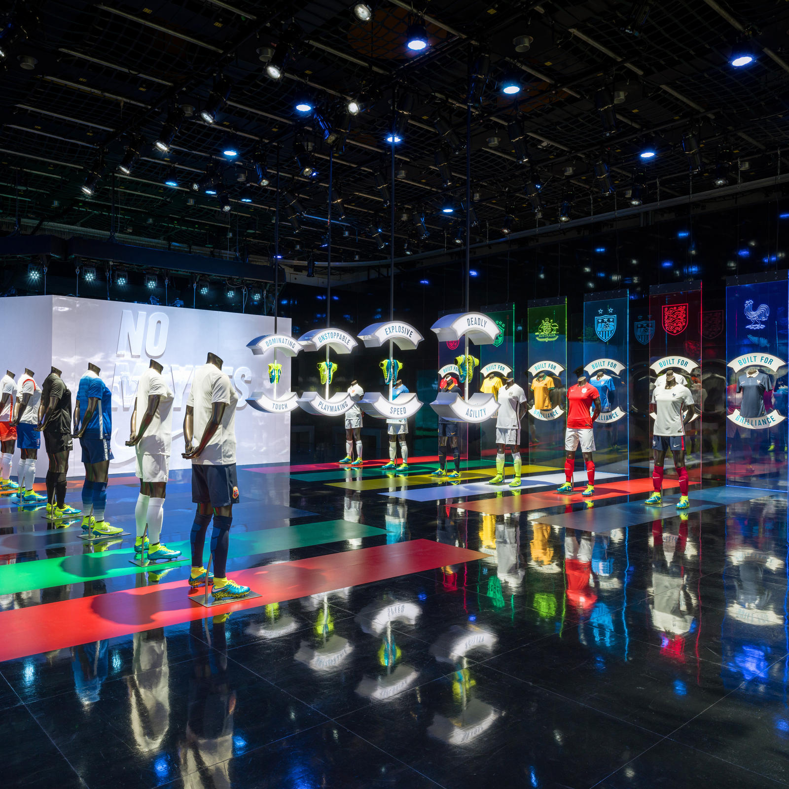 nike brings nomaybes soccer experience space to vancouver