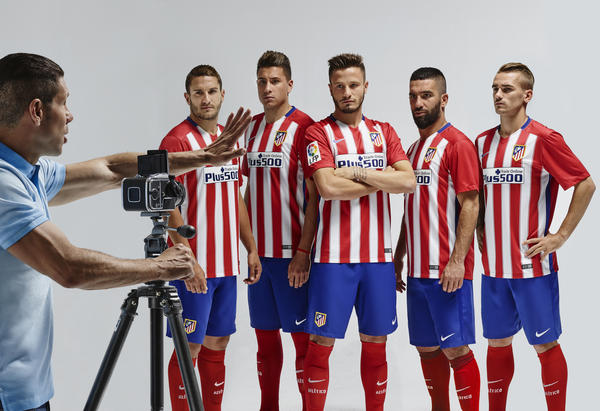 Nike Pays Homage to Atlético de Madrid's Historic Double-Winning Campaign with 2015-16 Home Kit