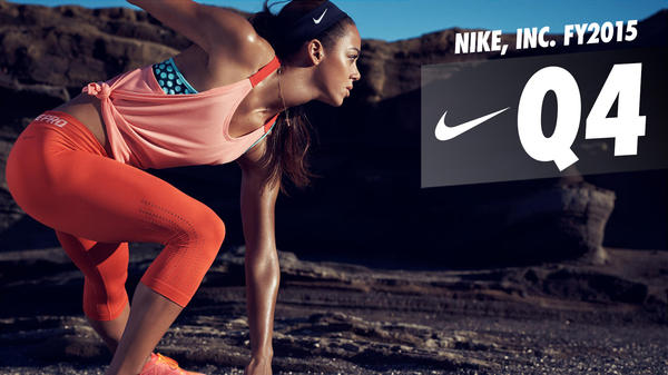 NIKE, INC. Reports Fiscal 2015 Fourth Quarter And Full Year Results