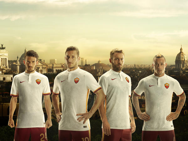 AS Roma and City of Rome Unite in new Nike Away Kit for 2015-16