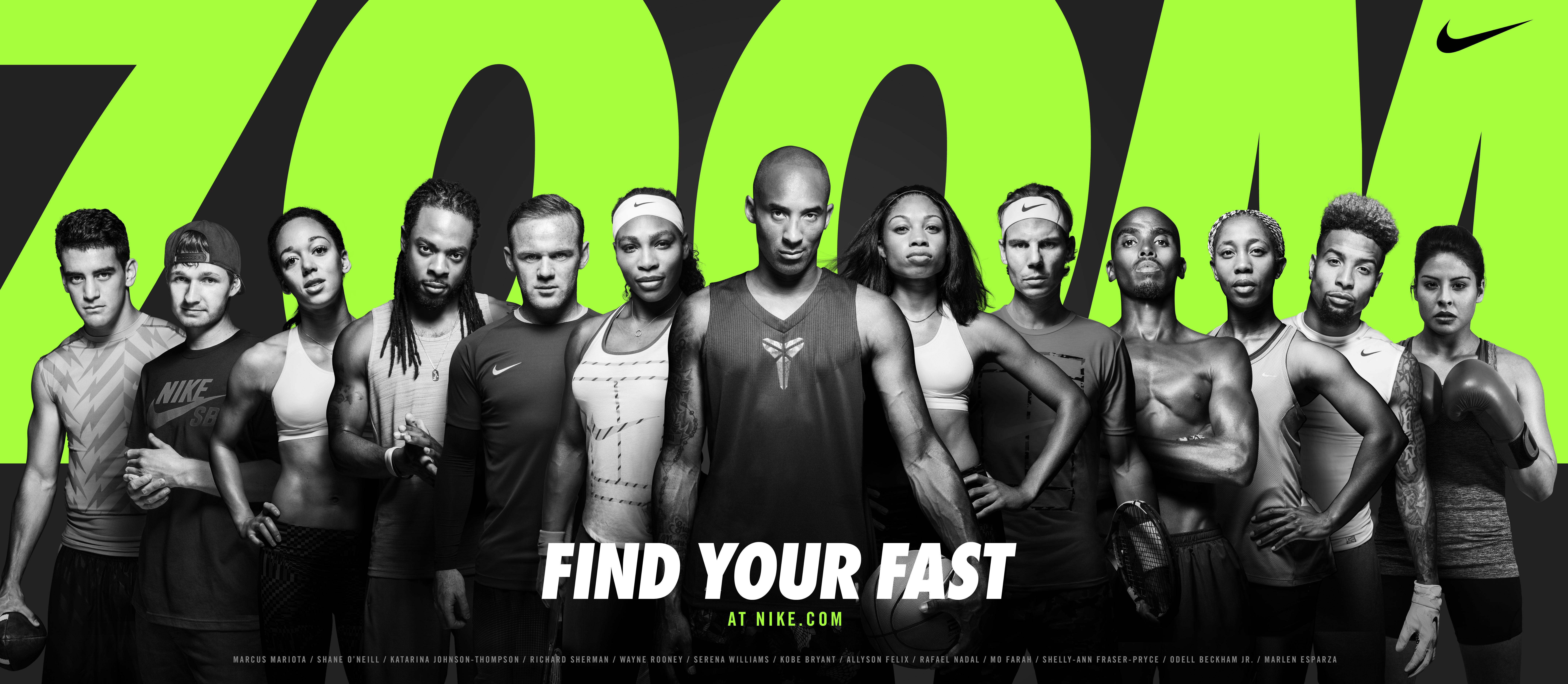 Nike presenta So Fast, la campaña más rápida de la marca