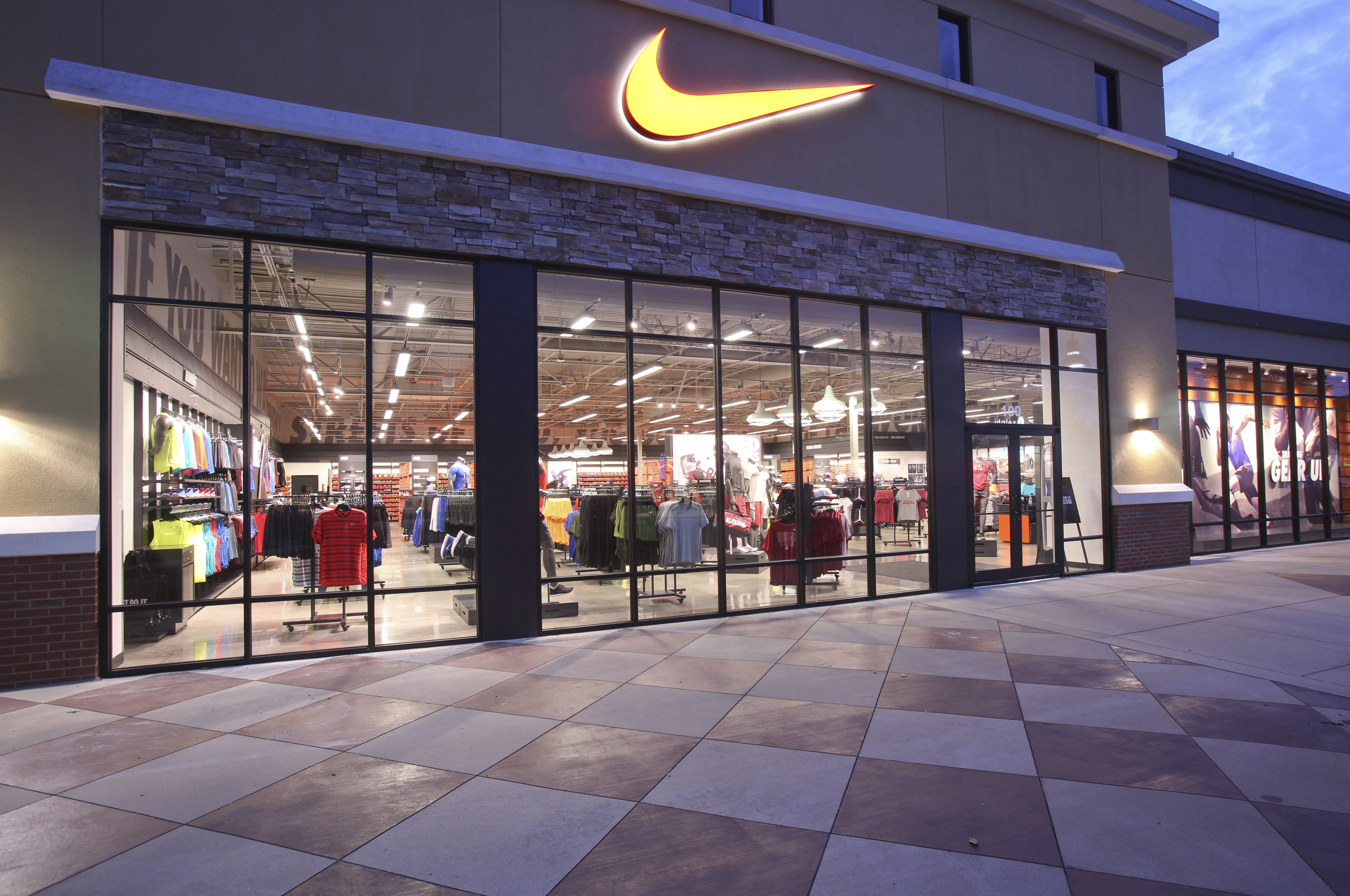 find a nike store