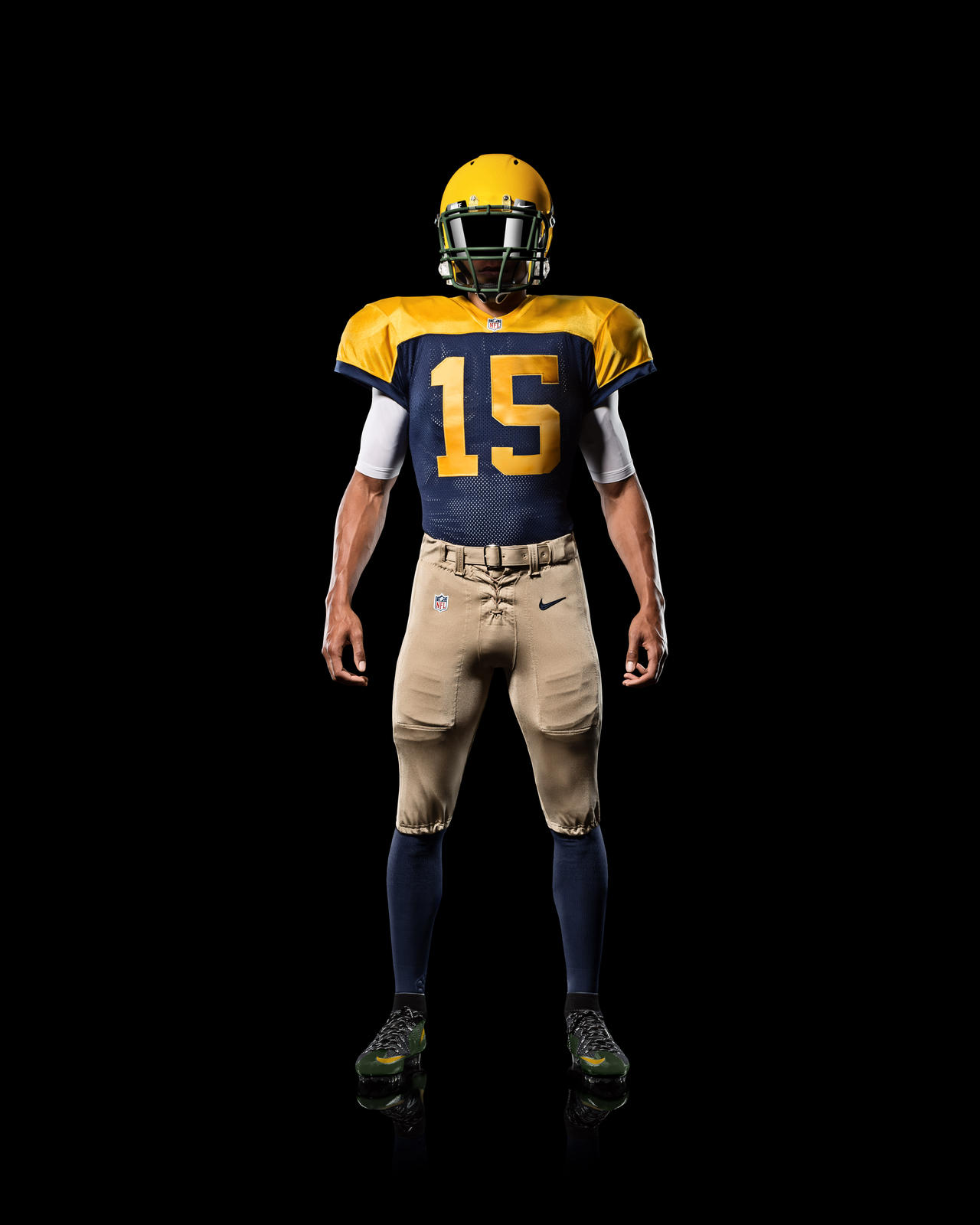 green bay packers go old school with new nike alternate