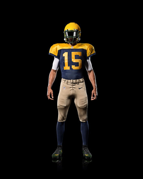 Green Bay Packers Go Old School With New Nike Alternate Uniform