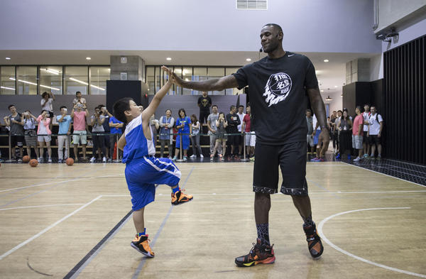 LeBron James Helps Bring RISE 2.0 Initiative to a Close