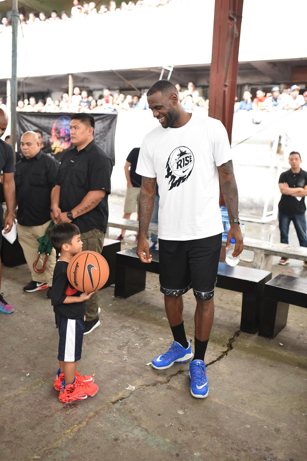 lebron james helps bring rise 20 initiative to a close