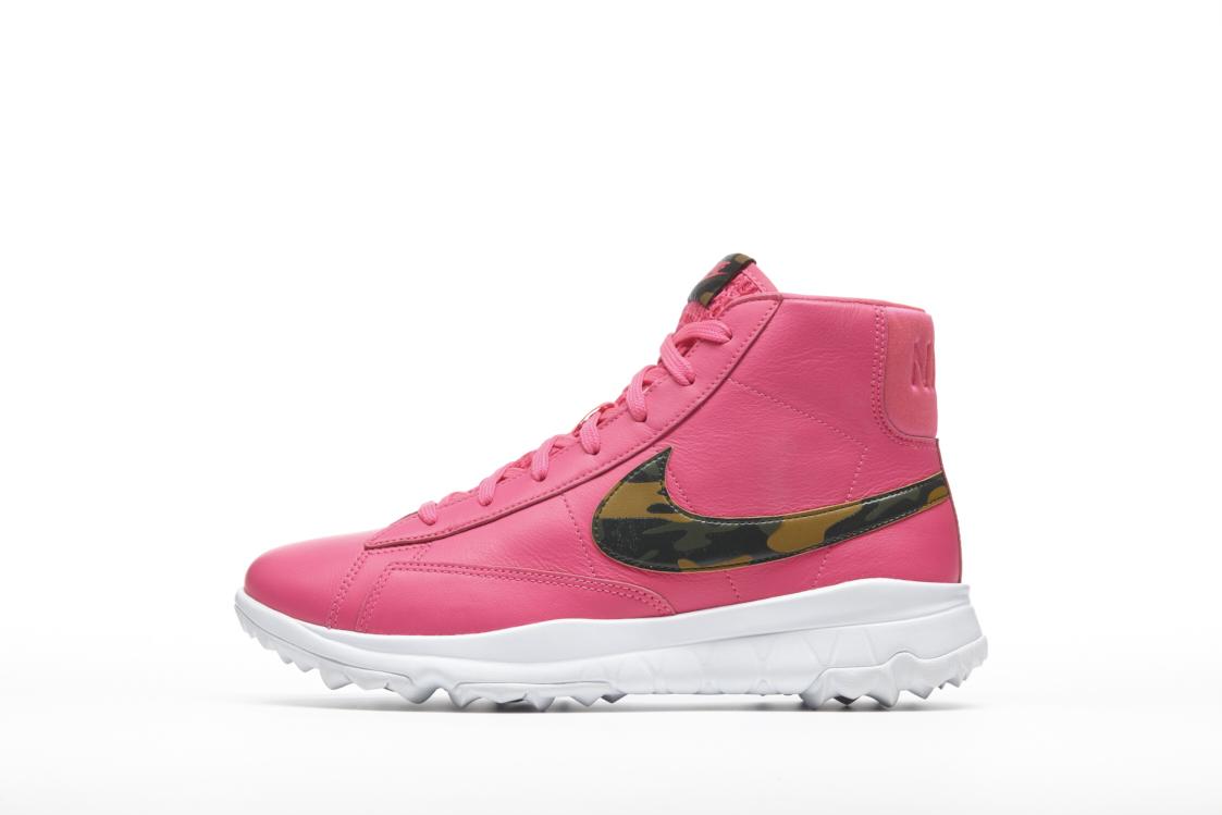Nike Blazers Yüksek Kadınlar Popüler Ayakkabı Hot Pembe Üst