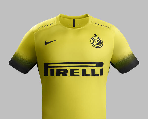 BOLD YELLOW LOOK ADDED TO INTER MILAN 2015-16 KIT LINE-UP