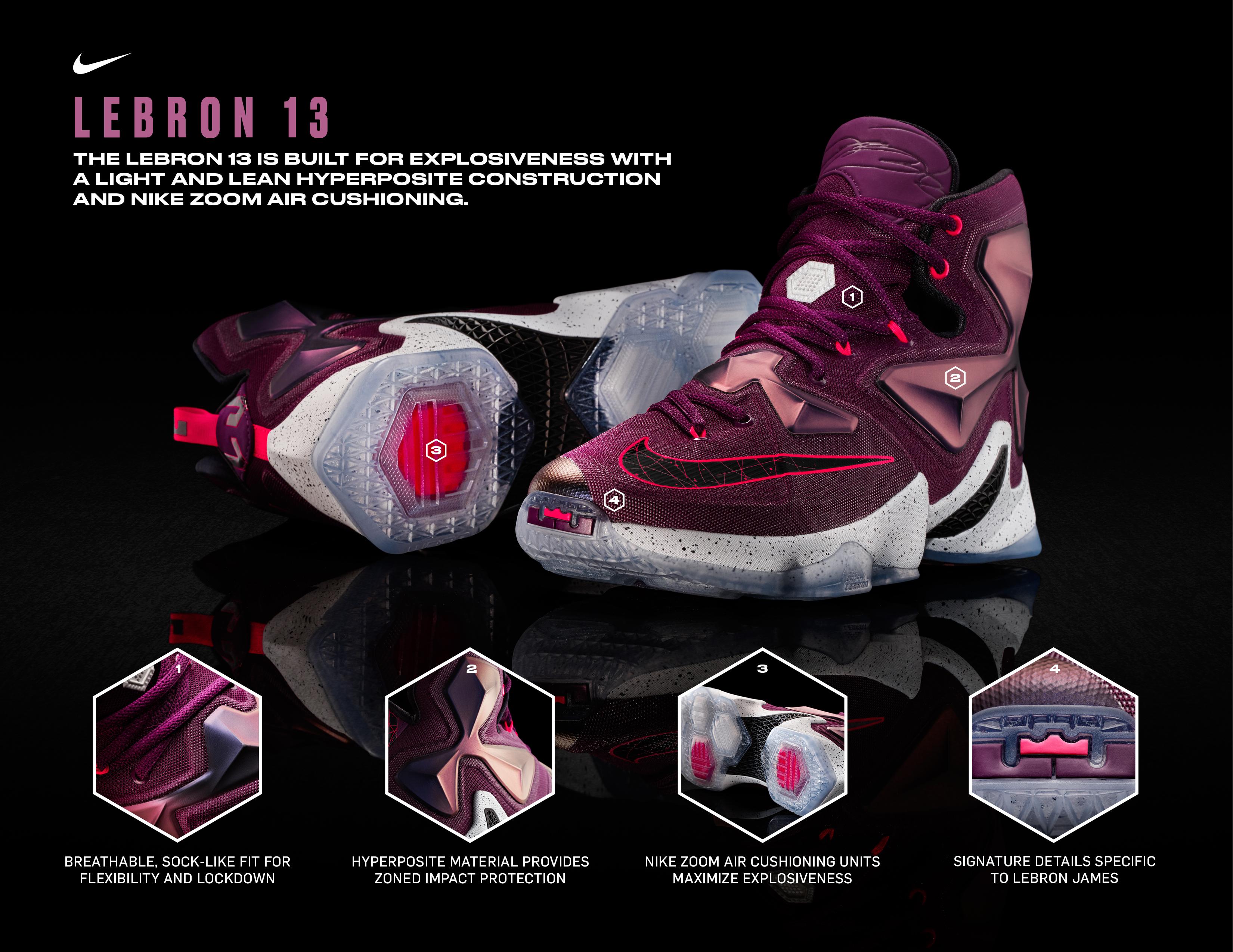 Nike Lebron 13 Shoes