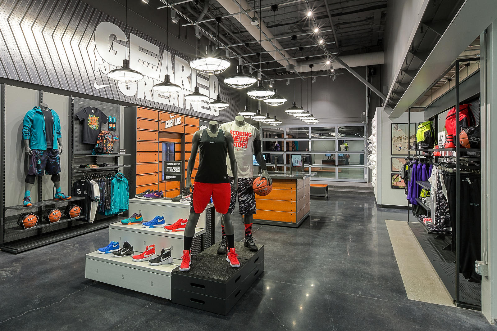 Nike Storeopeningeastla Native on Nike Location Strategy