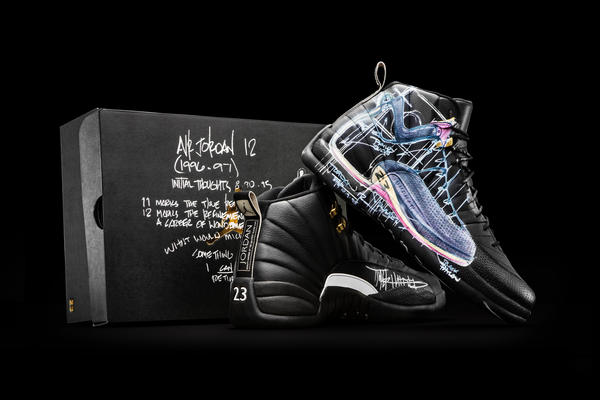Nike Donates a Dozen Exclusively Designed Jordan XII to OHSU Doernbecher