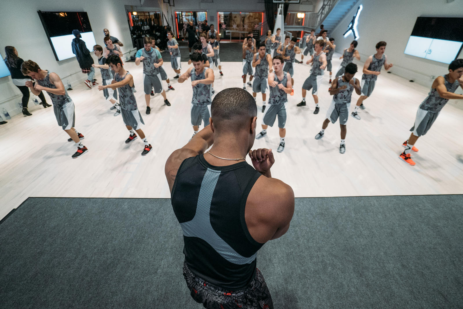 jordan brand presents exclusive creed training experience