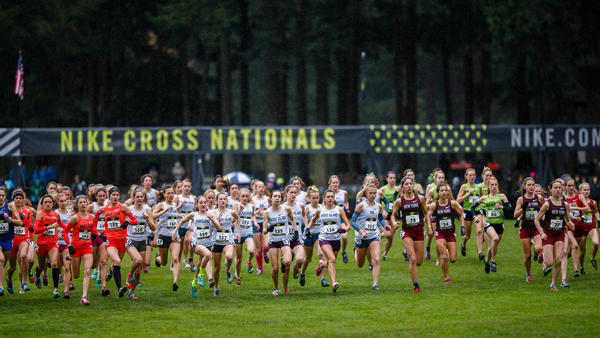 Nike Cross National SE Regional Cross Country Meet Town of Cary