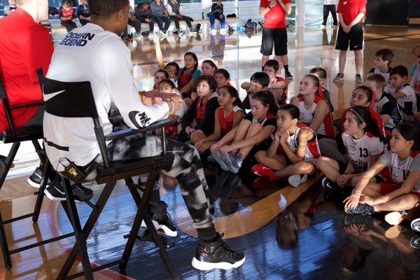 Nike and the Portland Trail Blazers enlist CJ McCollum and Mason Plumlee to Inspire Kids