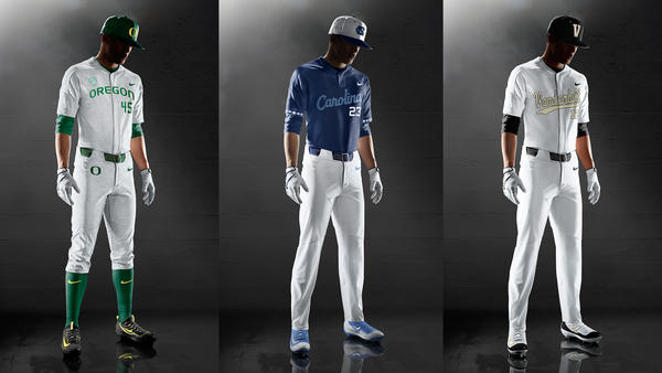 Select NCAA Baseball Programs Debut Nike Vapor Elite Uniform