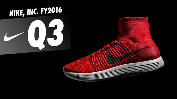 NIKE, INC. Reports Fiscal 2016 Third Quarter Results