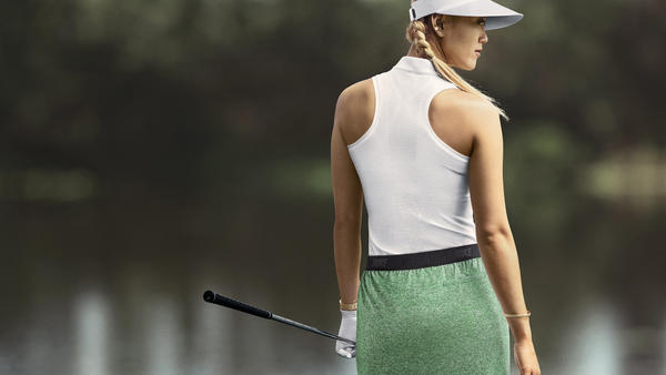 Distinctive Style on Display at First Women's Major