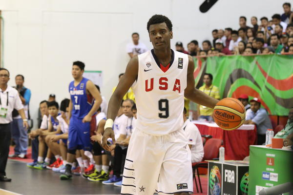 USA Team Forward Josh Jackson Readies for Nike Hoop Summit