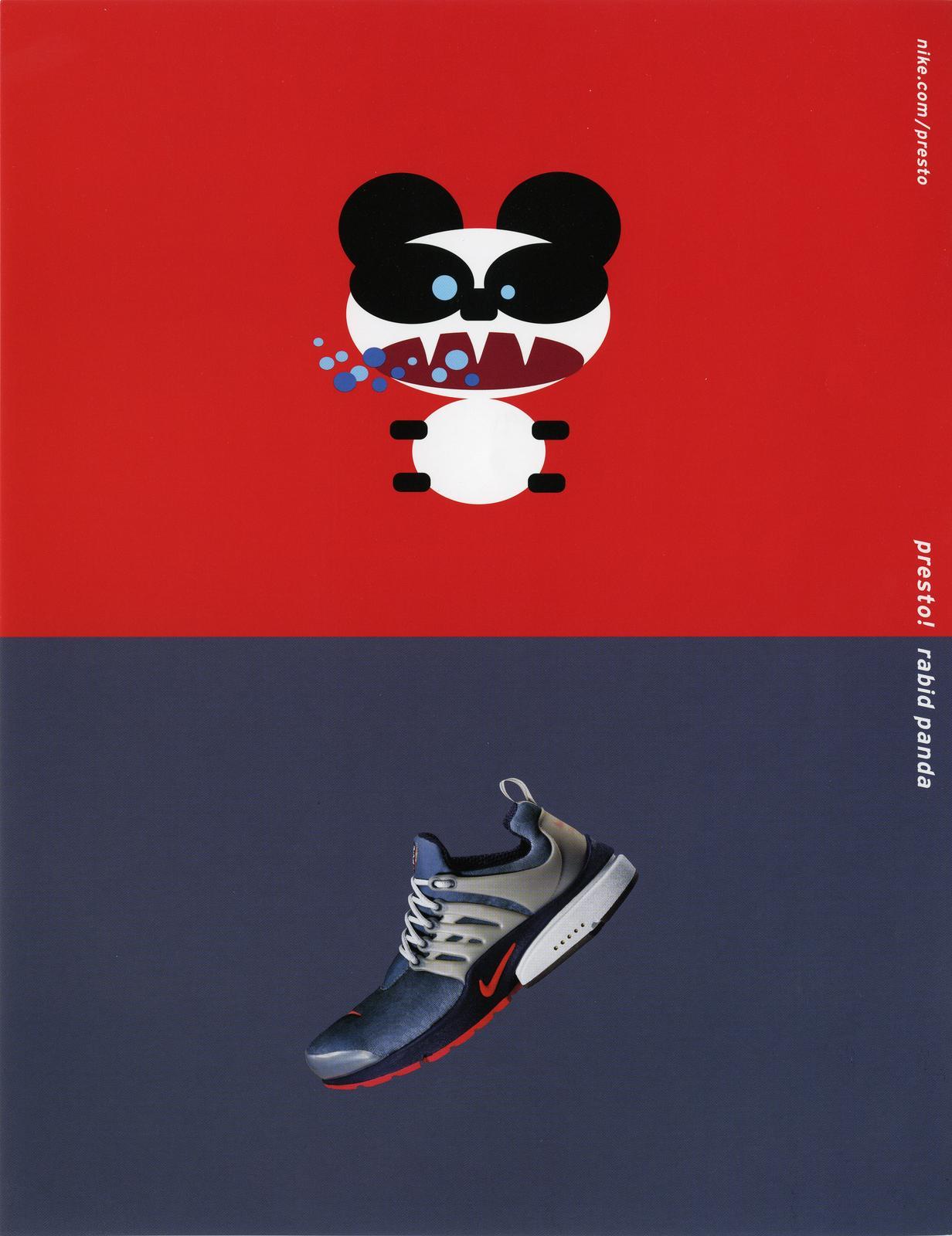 Nike Air Presto Rabid Panda