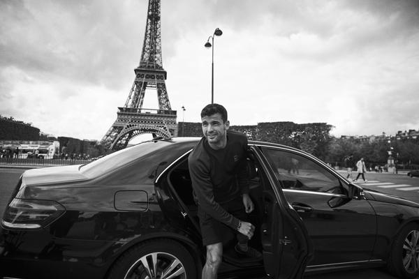Grigor Dimitrov on Paris