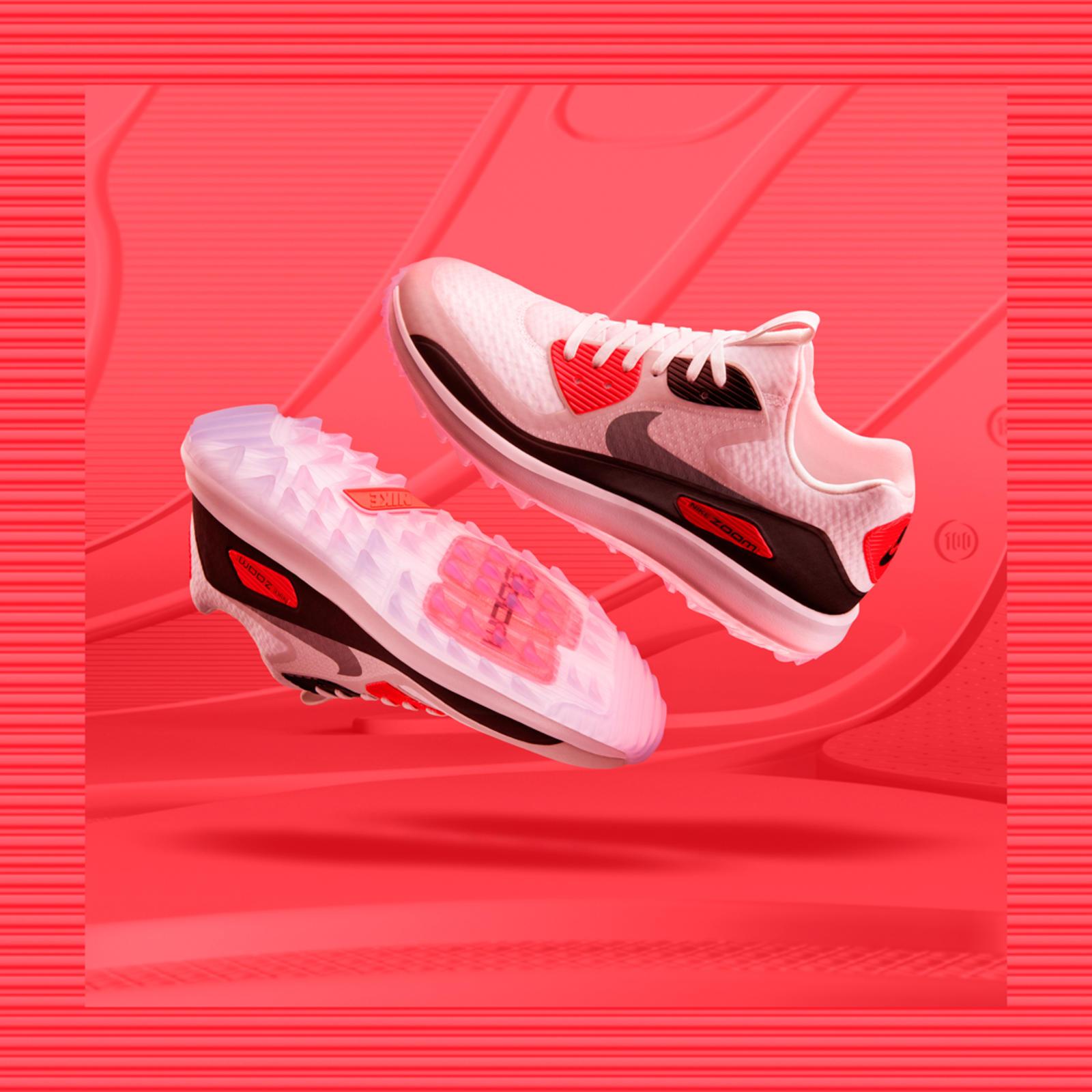 Womens Nike Air Zoom Pegasus 32 Sz 8.5 Pink Power Black Ghost