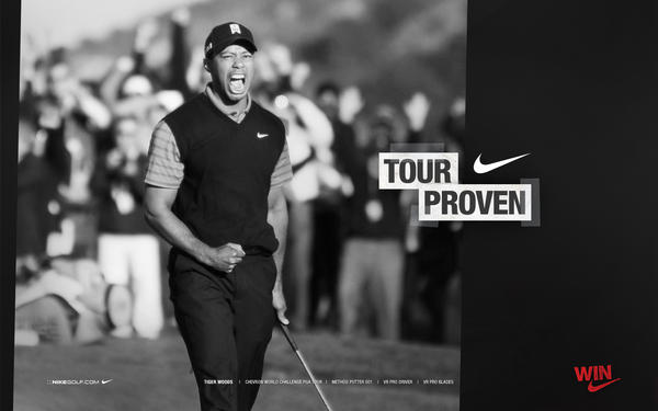 Nike Athlete Tiger Woods Re-Takes the Stage with an Electrifying Win
