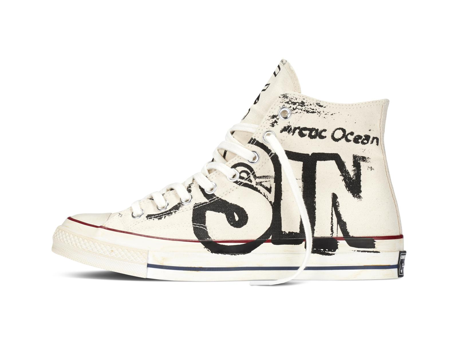 converse unveils limited edition andy warhol sneaker. Black Bedroom Furniture Sets. Home Design Ideas