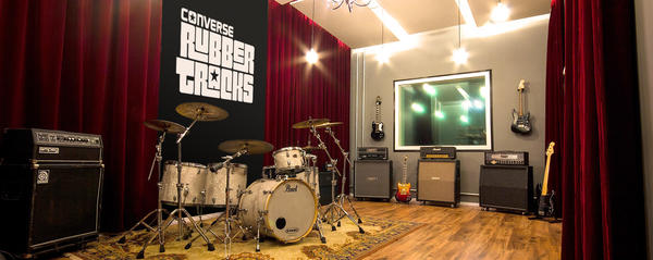 CONVERSE RUBBER TRACKS UNVEILS PERMANENT STUDIO IN BRASIL