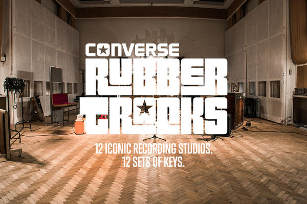 CONVERSE RUBBER TRACKS GIVES 84 EMERGING ARTISTS KEYS TO THE WORLD'S MOST ICONIC STUDIOS