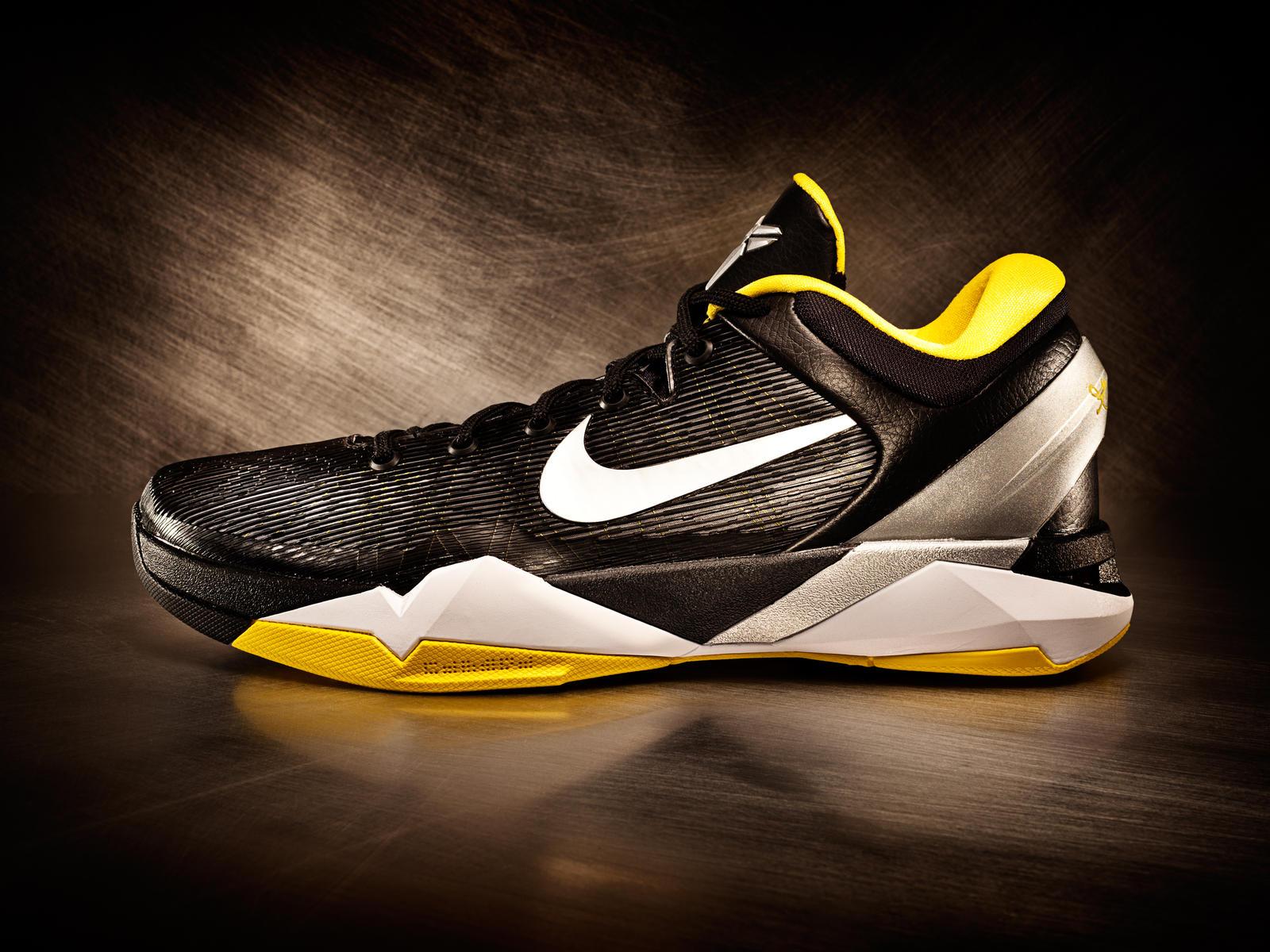 Nike Zoom Kobe 7 VII Del Sol Black