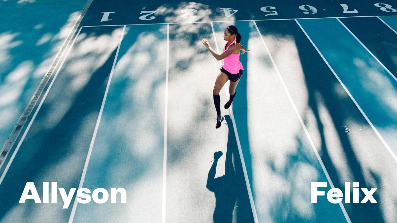 Nike news os hub teasers allysonfelix hd 1600