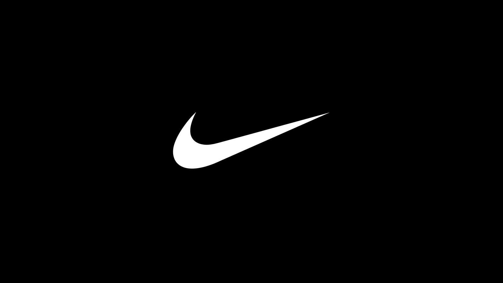 Nike swoosh logo white small hd 1600