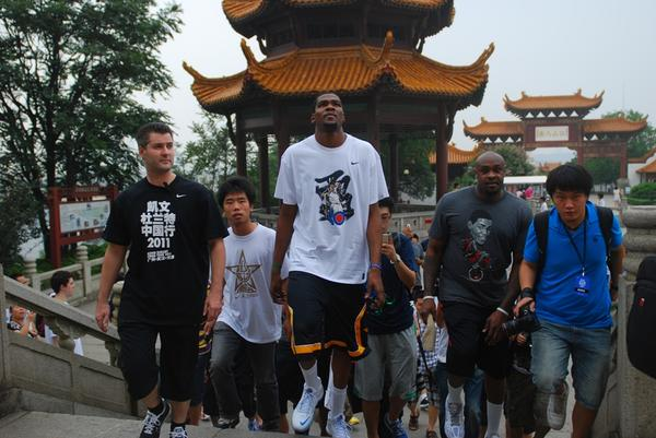 Kevin Durant Visits Greater China with Nike Basketball
