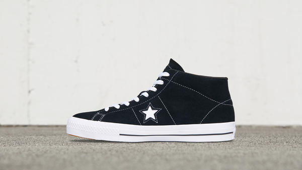 Converse Cons One Star Pro Suede Mid Top