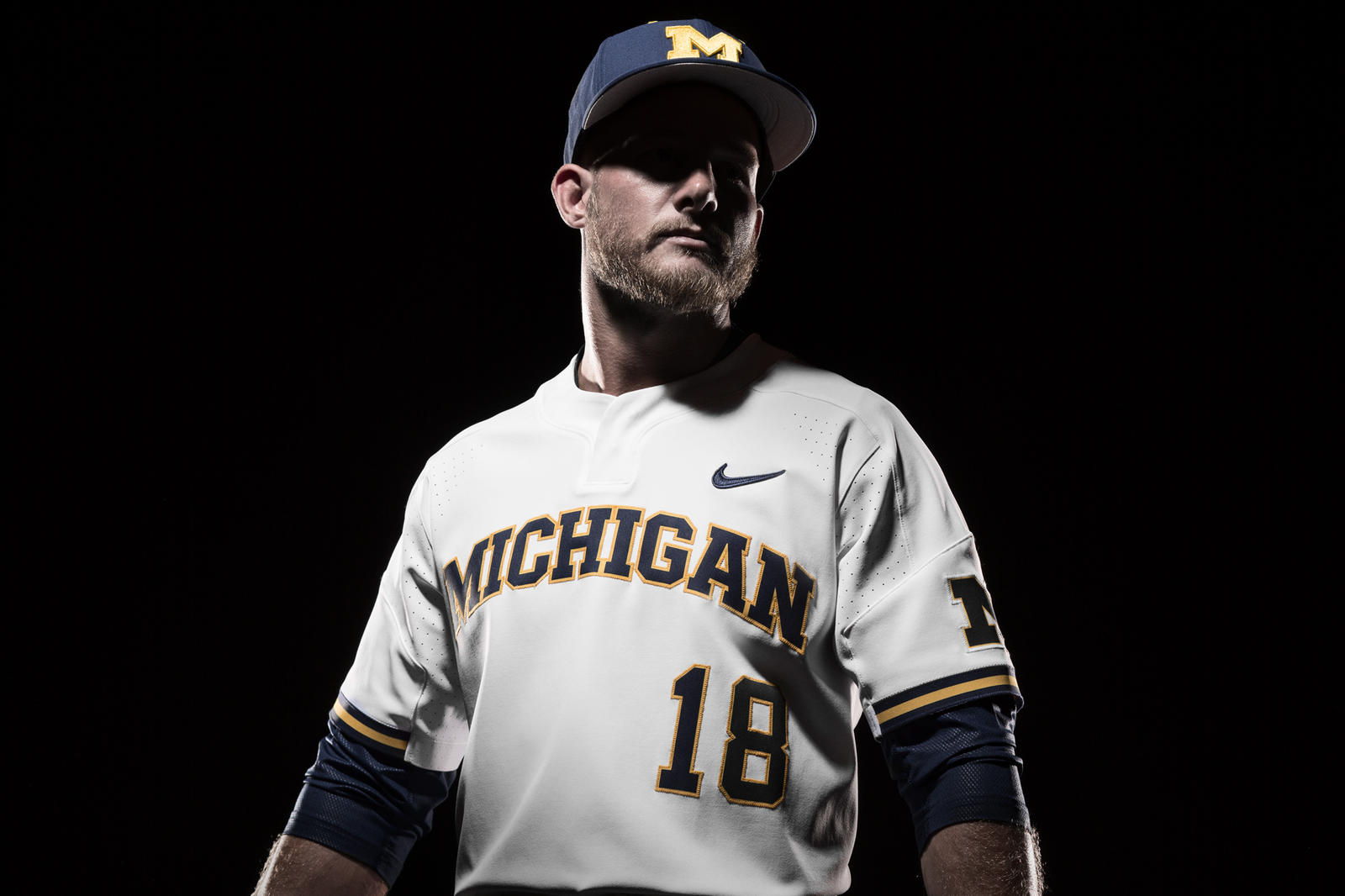 One maize one blue one partnership nike news for M go fish