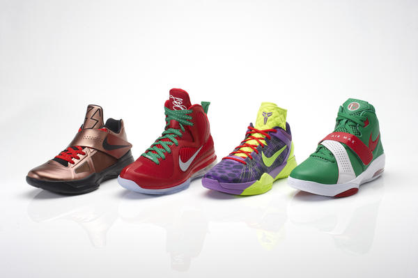 Nike Basketball introduces Christmas colors