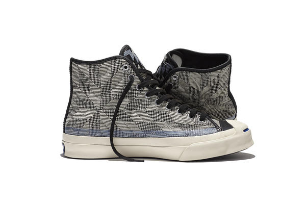 "Converse Launches Jack Purcell Signature Mid ""Quilt"""
