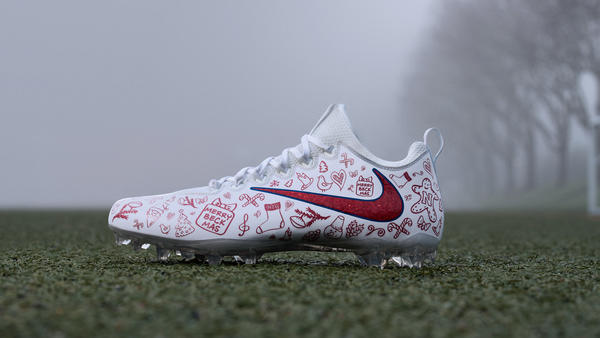 "Custom Cleats for Odell Beckham Jr. Ensure ""Home Field Advantage"""