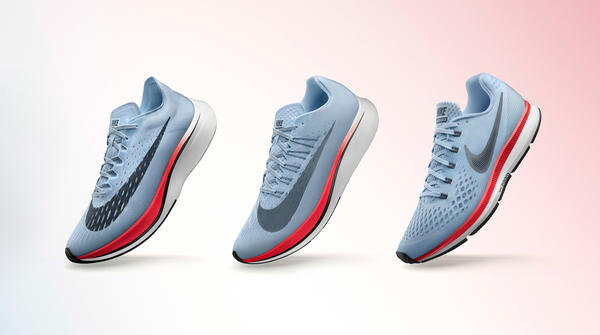 Nike Redefines Look and Feel of Fast Running