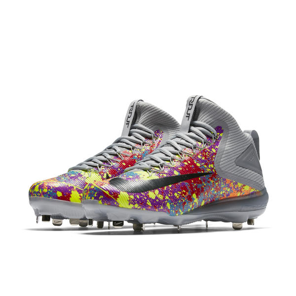 Zoom Trout Color Burst Native 600 Nike Baseball Launches Collection News