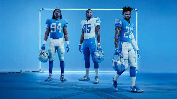 5 Reasons to Obsess Over the New Lions Uniforms