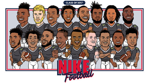 Nike Football Announces its 2017 Rookie Class