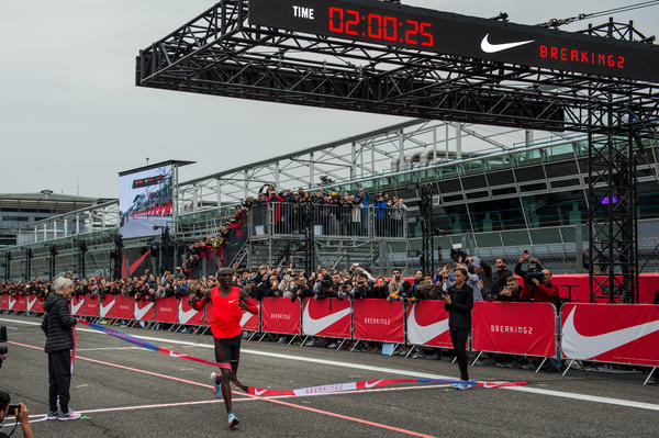 Nike Celebrates its Breaking2 Results