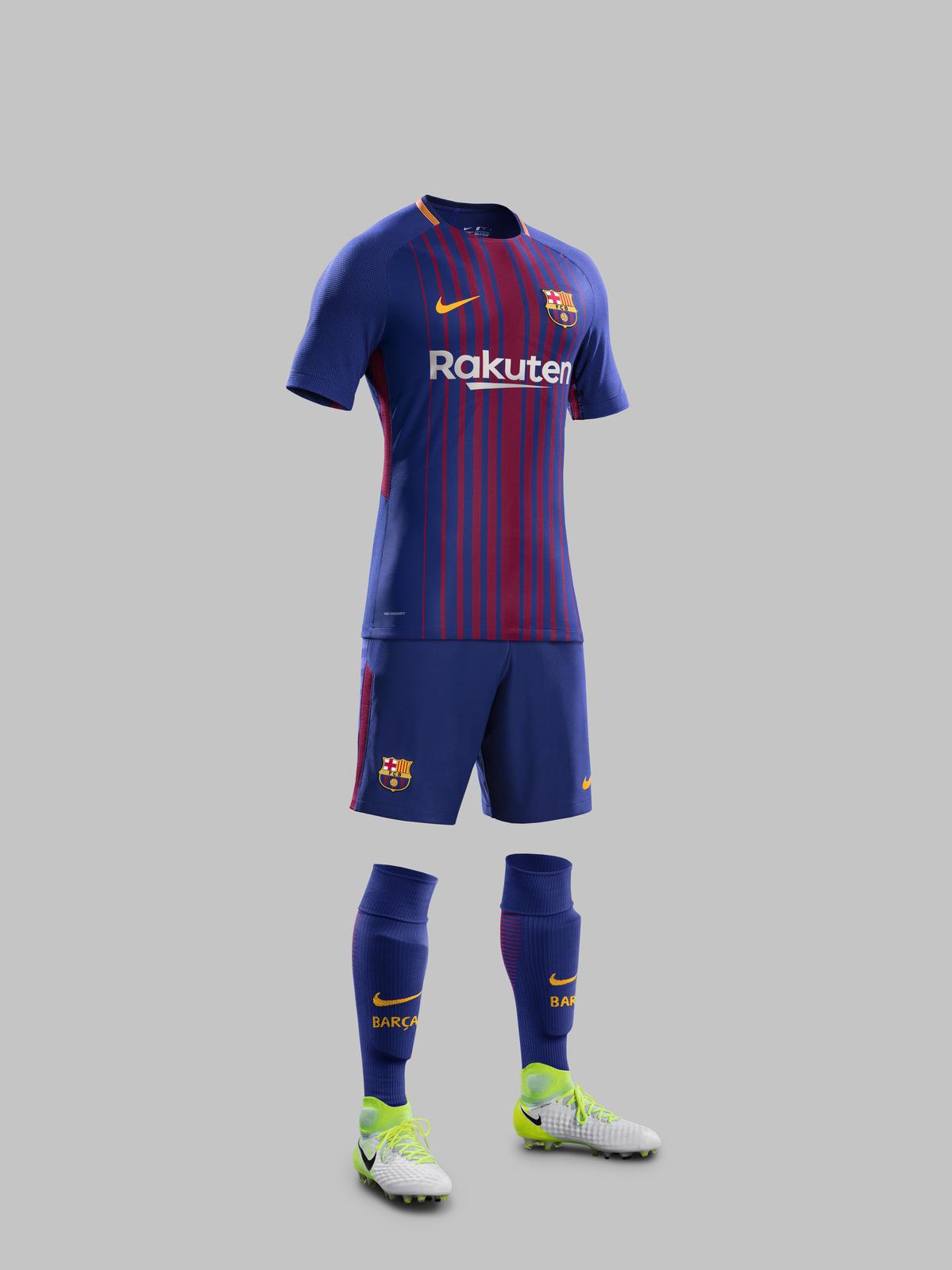 FC Barcelona Home Kit 2017-18 - Nike News