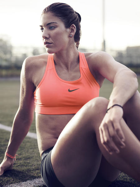 The look of sport: Hope Solo