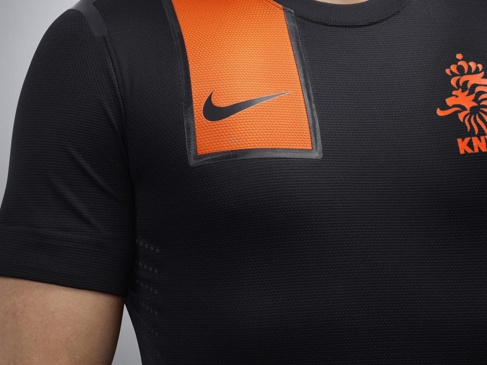 nike football unveils netherlands away national team kit