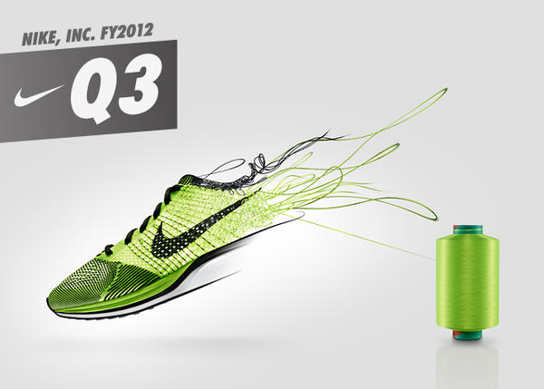 NIKE, Inc. Reports Fiscal 2012 Third Quarter Results